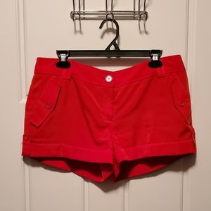 Express Red Shorts Sz 10